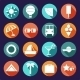 Set of Summer and Travel Icons - GraphicRiver Item for Sale