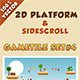 2D Platform & Sidescroll Tileset #4 - GraphicRiver Item for Sale