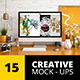 15 Creative Mockups - GraphicRiver Item for Sale