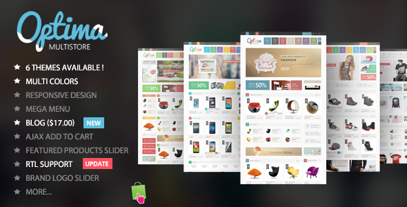 Optima - Multipurpose  Responsive Prestashop Theme - Technology PrestaShop