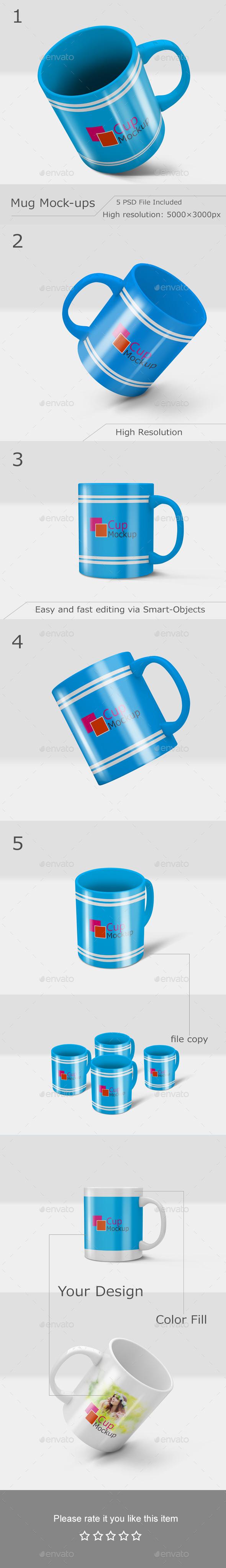 GraphicRiver Mug Mockup 10937639