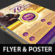 Clergy Anniversary Flyer Poster Template