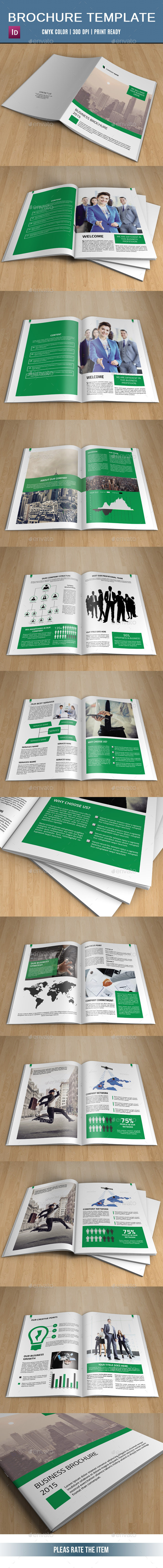 GraphicRiver Corporate Brochure Template-V231 10937806