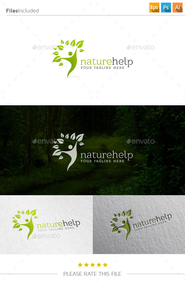 GraphicRiver Tree Logo 10928079