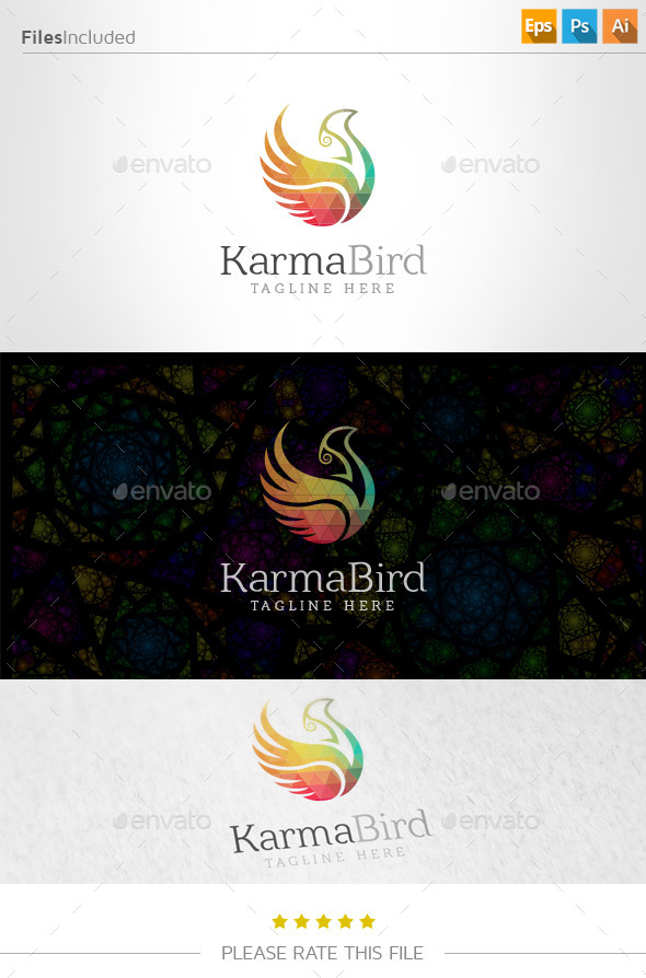 GraphicRiver Bird Logo 10937914