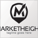Market Height Logo Template