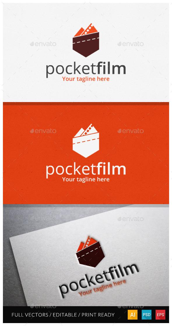 GraphicRiver Pocket Film Logo Template 10929689
