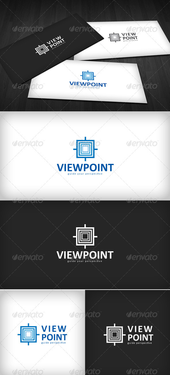 Viewpoint Logo - Vector Abstract
