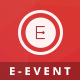 E-Event - Elegant HTML Template For Events