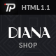 Diana e-Commerce HTML Template - ThemeForest Item for Sale