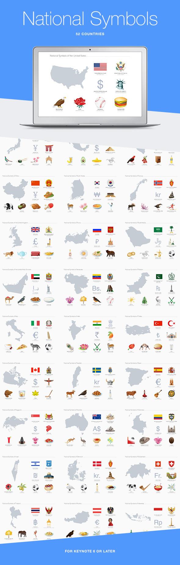 GraphicRiver National Symbols for Keynote 10938534