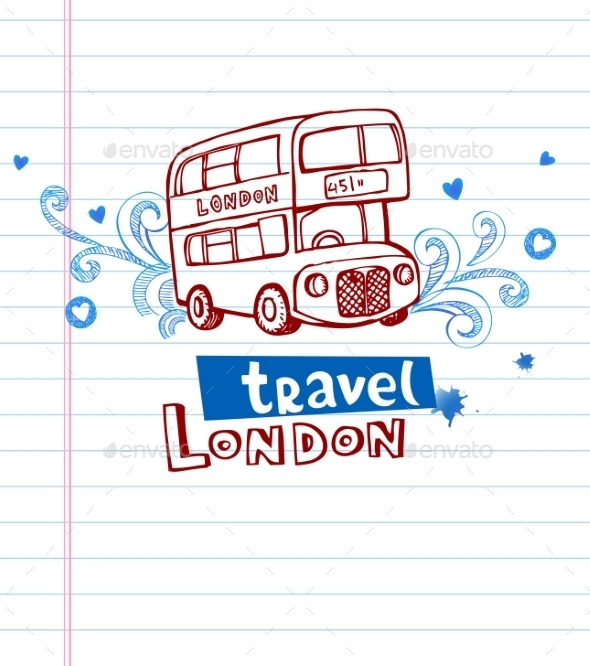 GraphicRiver Greeting Card from London 10938541