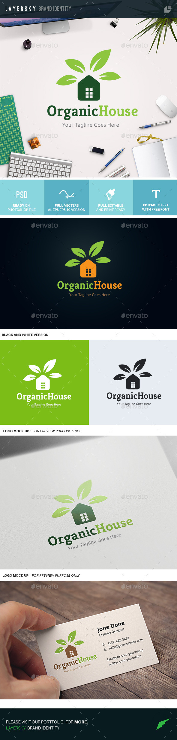 GraphicRiver Organic House 10938553