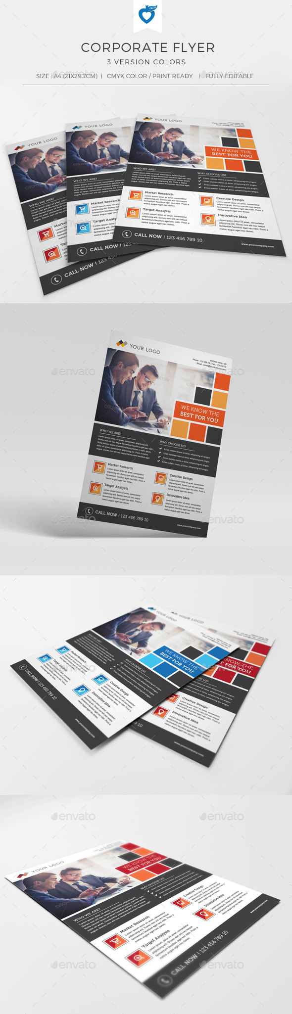 GraphicRiver Corporate Flyer 10938587