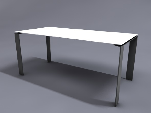 3DOcean Table Four Kartell 10938594