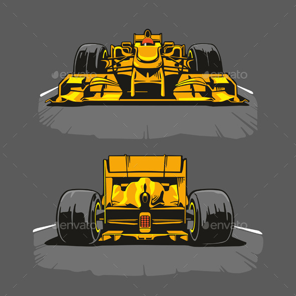GraphicRiver Racing Formula One 10938605