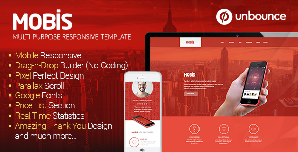 ThemeForest Mobis Multi-Purpose Responsive Unbounce Template 10938615