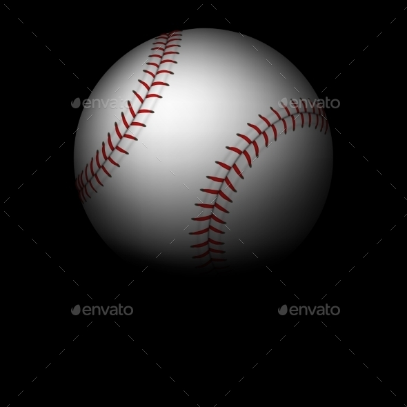 GraphicRiver Baseball in Darkness 10938621