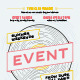 Musical Event Poster Template - GraphicRiver Item for Sale