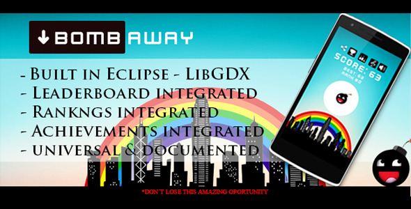CodeCanyon Bomb Away 10866600