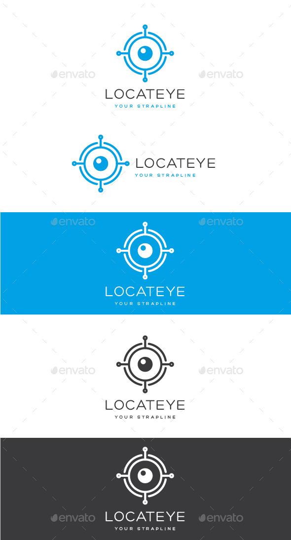 GraphicRiver Locateye Logo 10938880