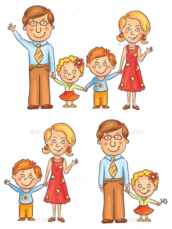 GraphicRiver Family Holding Hands 10938949