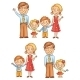 Family Holding Hands - GraphicRiver Item for Sale