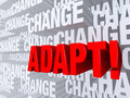Adapt Against A Background Of Change - PhotoDune Item for Sale