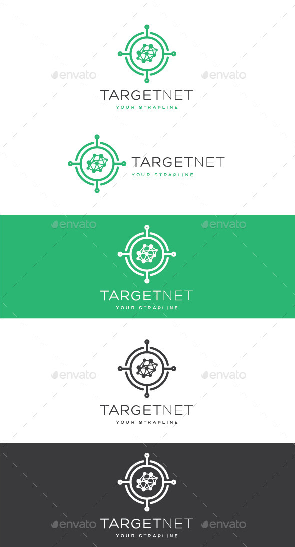GraphicRiver Target Net Logo 10939079