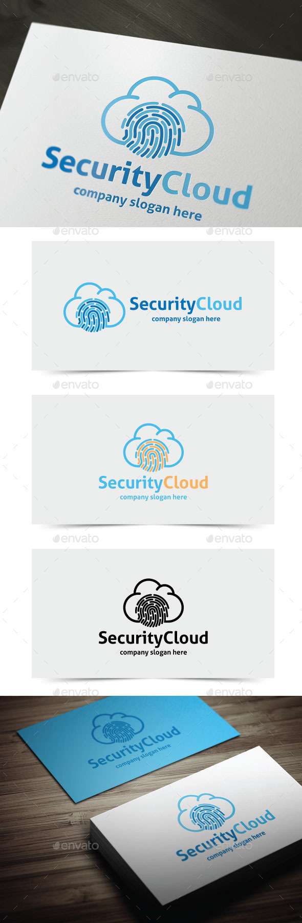 GraphicRiver Security Cloud 10939201