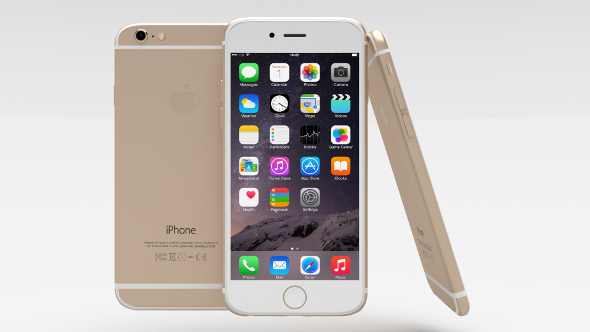 3DOcean Iphone 6 Gold 10939207