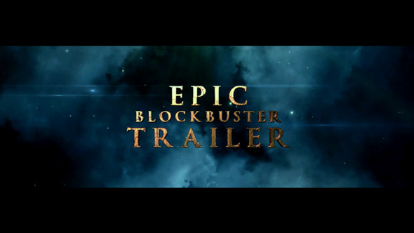 Epic Blockbuster Trailer Kit (Titles)