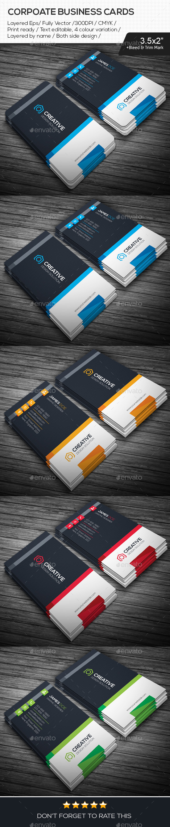 GraphicRiver Creative Design Business Cards 10939330