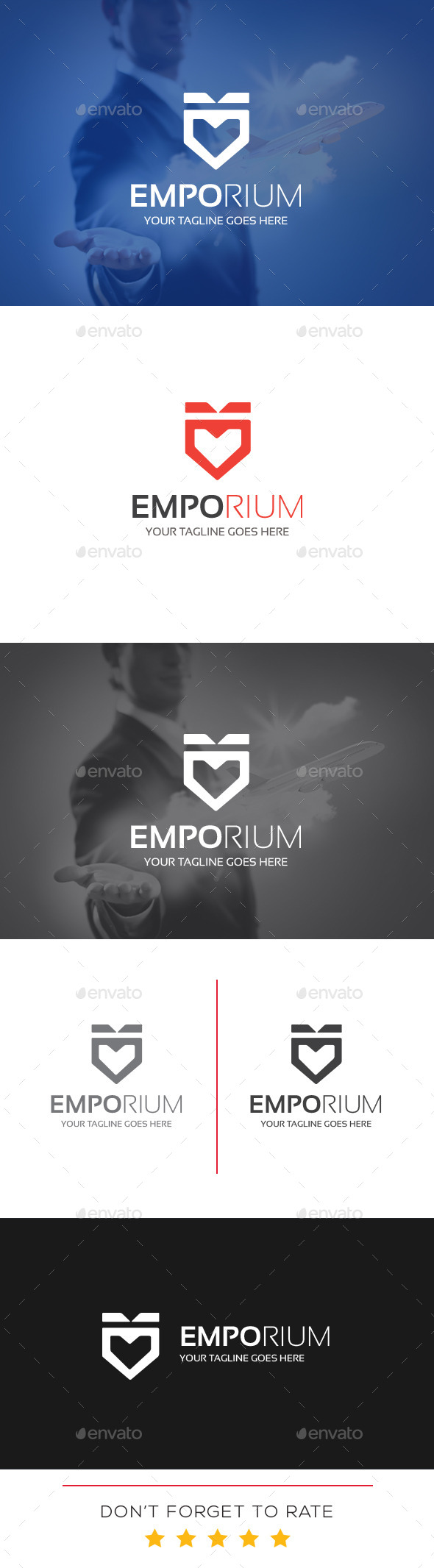 GraphicRiver Emporium Logo Template 10939402