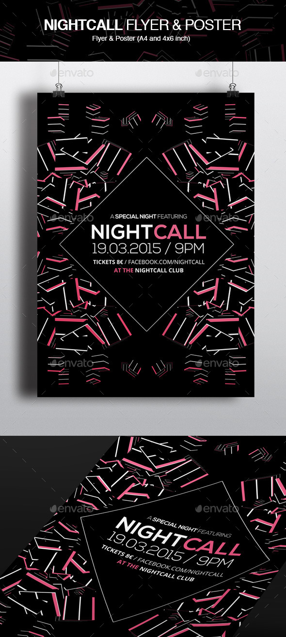 GraphicRiver Nightcall 10939407