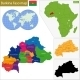 Burkina Faso Map - GraphicRiver Item for Sale