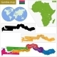 The Gambia Map - GraphicRiver Item for Sale