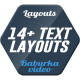 14 Text Layouts - VideoHive Item for Sale