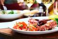 Octopus salad close up - PhotoDune Item for Sale