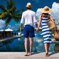 Couple near poolside - PhotoDune Item for Sale