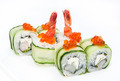 delicious seafood sushi at a Japanese restaurant - PhotoDune Item for Sale