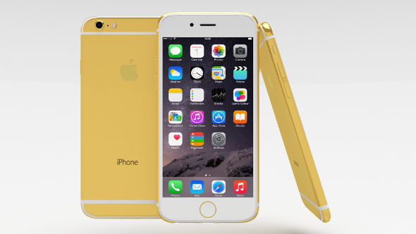 3DOcean iPhone 6 Gold Plated 10940321