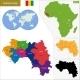 Guinea Map - GraphicRiver Item for Sale