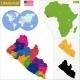 Liberia Map - GraphicRiver Item for Sale