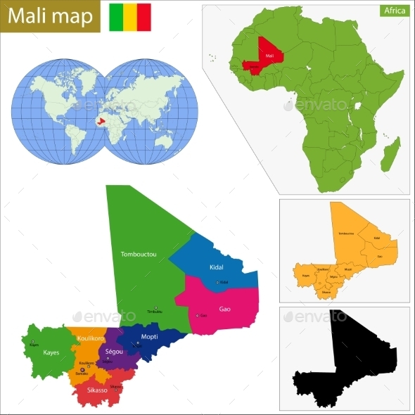 GraphicRiver Mali Map 10940968