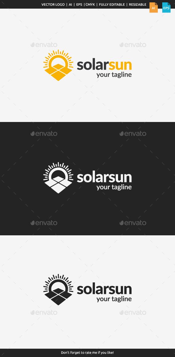 GraphicRiver Solar Sun Logo 10940972