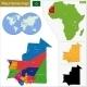Mauritania Map - GraphicRiver Item for Sale