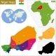 Niger Map - GraphicRiver Item for Sale