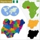 Nigeria Map - GraphicRiver Item for Sale