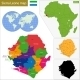 Sierra Leone Map - GraphicRiver Item for Sale